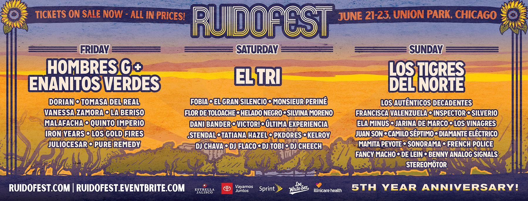 Ruido Fest - Latin Alternative Music Festival
